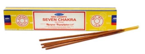 Seven Chakra Incense Sticks By Satya Sai Baba