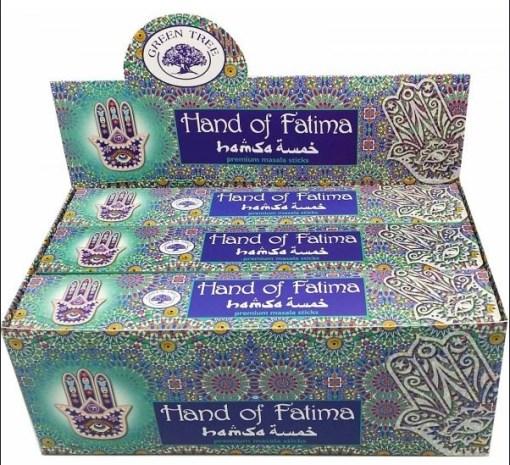 Hands Of Fatima Incense.
