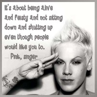 Pink: Be Feisty