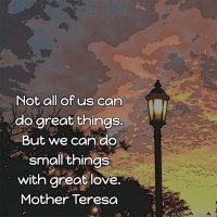 Mother Teresa: On Doing Small Things with Great Love