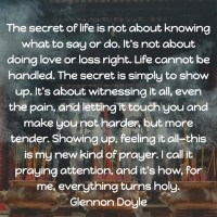 Glennon Doyle: On the Secret of Life