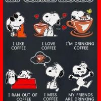 Snoopy: My Coffee Moods