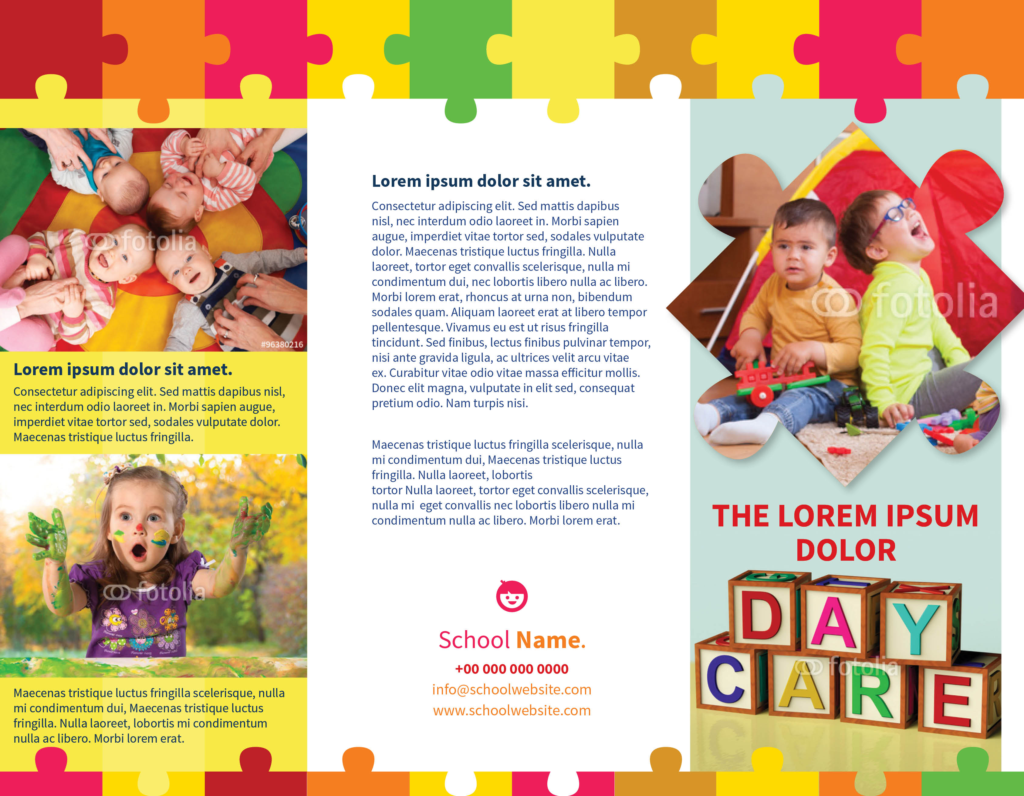 Daycare Brochure Samples Ideal Vistalist Co