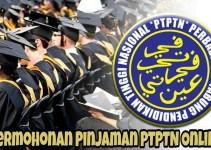 Permohonan Pinjaman PTPTN Online 2018