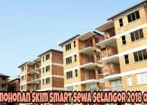 Permohonan Skim Smart Sewa Selangor 2018 Online