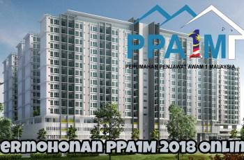 Permohonan PPA1M 2018 Skim Perumahan Penjawat Awam Online