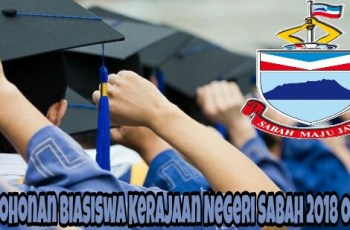 Permohonan Biasiswa Kerajaan Negeri Sabah (BKNS) 2018 Online