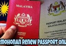 Permohonan Renew Passport Online