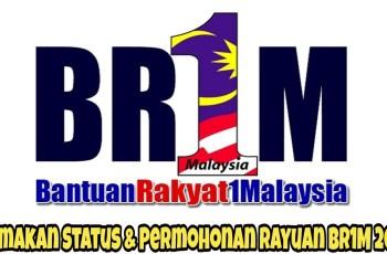 Semakan Status & Permohonan Rayuan BR1M 2018