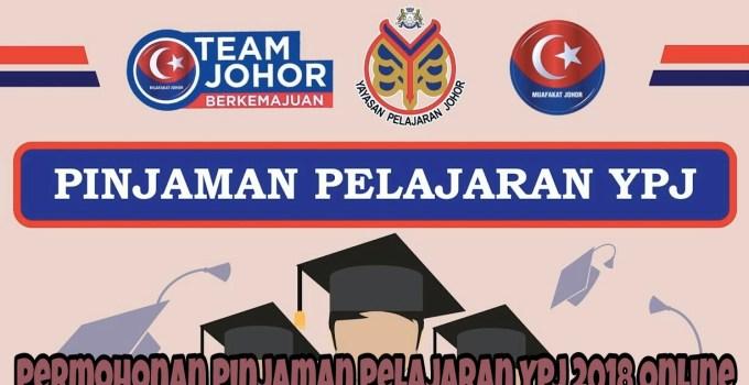 Permohonan Pinjaman Pelajaran YPJ 2018 Online