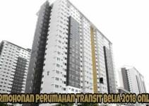 Permohonan Perumahan Transit Belia 2018 Online