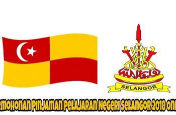 Permohonan Pinjaman Pelajaran Negeri Selangor 2018 Online