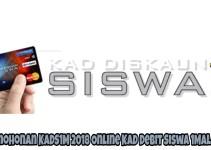 Permohonan KADS1M 2018 Online Kad Debit Siswa 1Malaysia