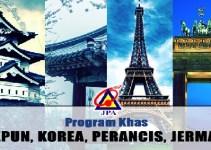 Permohonan Biasiswa JPA 2018 Program Khas Jepun Korea Perancis dan Jerman (JKPJ)
