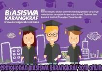 Permohonan Biasiswa Karangkraf 2018 Online