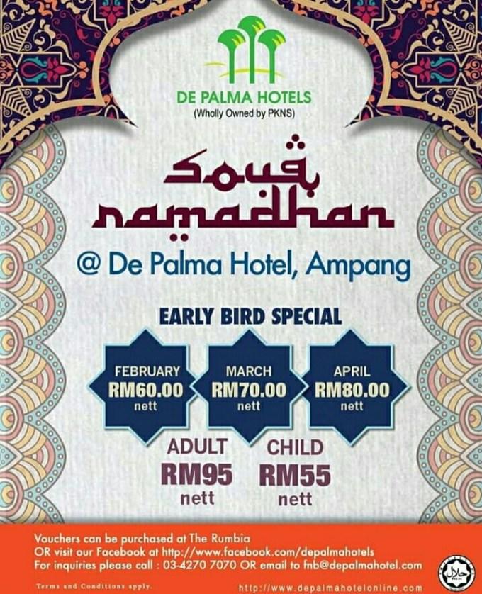Senarai Buffet Ramadhan 2018 Selangor
