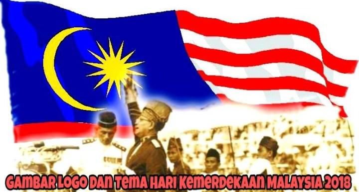 Gambar Logo Dan Tema Hari Kemerdekaan Malaysia 2018