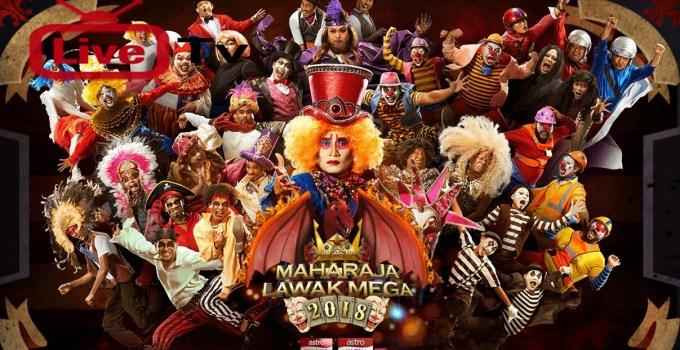 Live Streaming Maharaja Lawak Mega 2018 Online