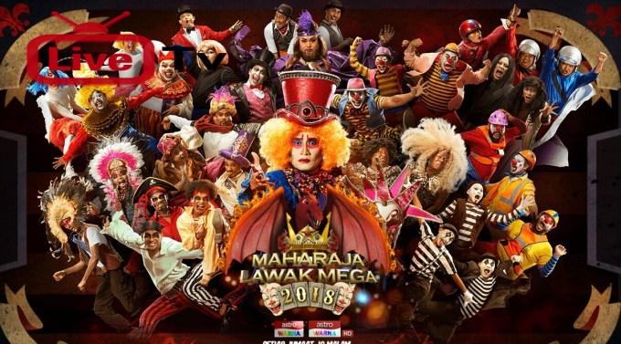 Live Streaming Maharaja Lawak Mega Online