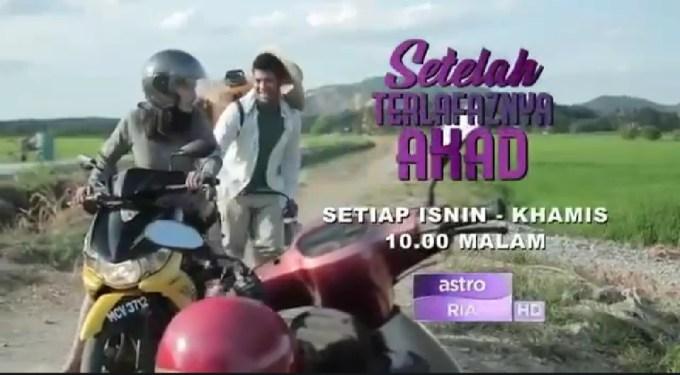 Sinopsis Drama Setelah Terlafaznya Akad Lakonan Kamal Adli & Uqasha Senrose