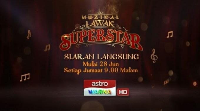 Tonton Live Streaming Muzikal Lawak Superstar 2019