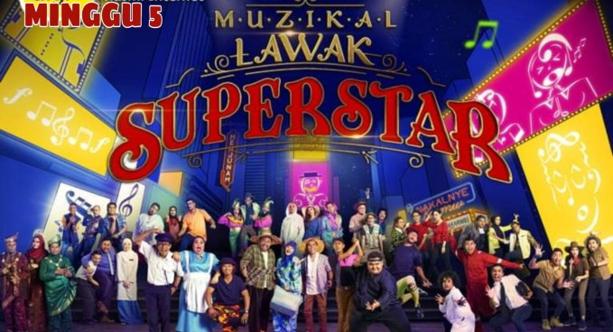 Live Streaming Muzikal Lawak Superstar 2019 Minggu 5