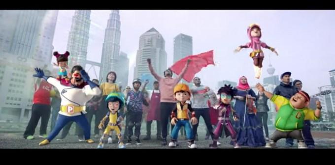 Lirik Lagu Faizal Tahir Fire & Water (OST BoBoiBoy Movie 2)