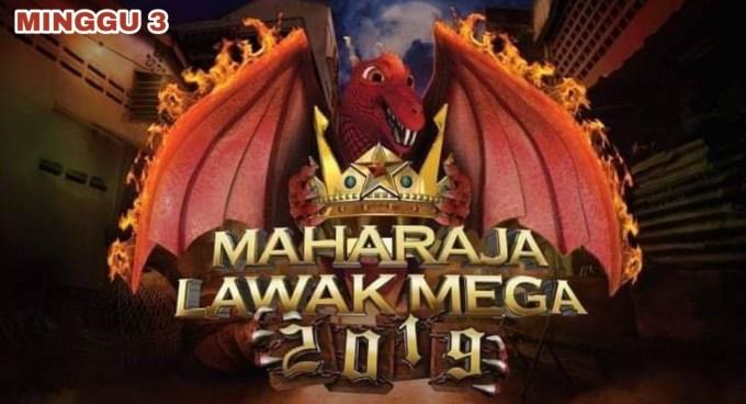 Live Streaming Maharaja Lawak Mega 2019 Minggu 3