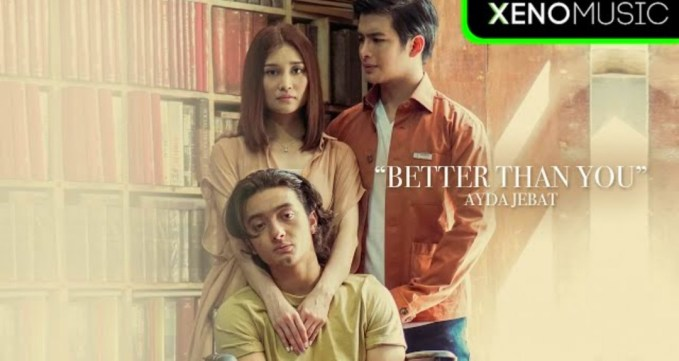 Lirik Lagu Better Than You - Ayda Jebat (OST Cindai)