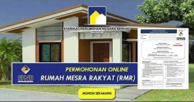 Cara Permohonan Rumah Mesra Rakyat 2021 Online, Bayaran Bulanan RM300 (RMR)