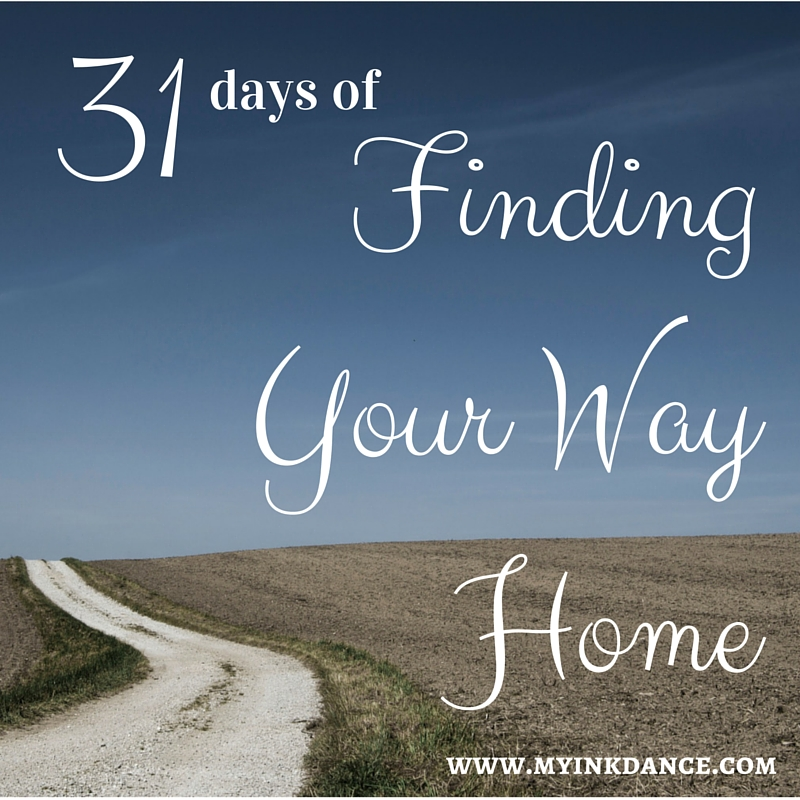 We all lose our way sometimes. This is about finding our way to the place that makes our heart feel at home.