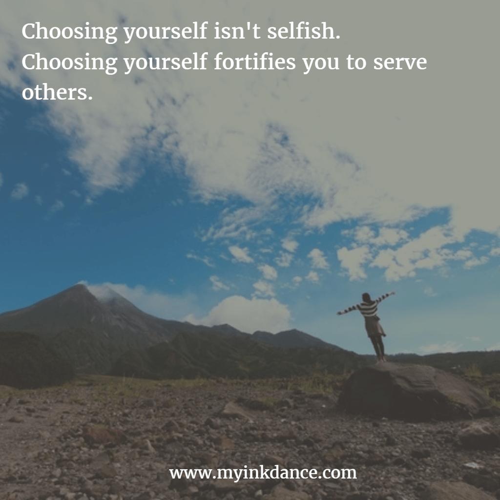 Choosing me