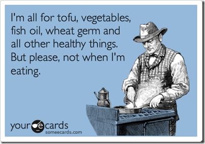 healthy eating someecard