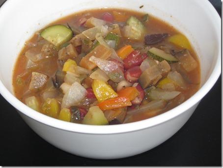 Ratatouille soup 046