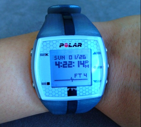 Week 1 Tm Training Polar Ft4 My Inner Shakti
