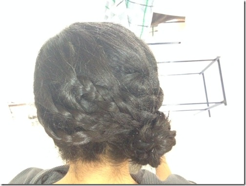 braided side bun 1