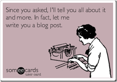 Blogging Someecard