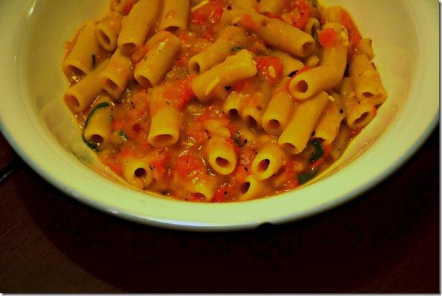 Dairy-free pasta sauce