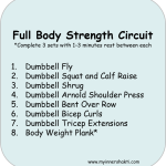 Half Marathon Training (Week 11) + A Full Body Strength Circuit