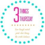 Three Things Thursday (8) – Puerto Rico