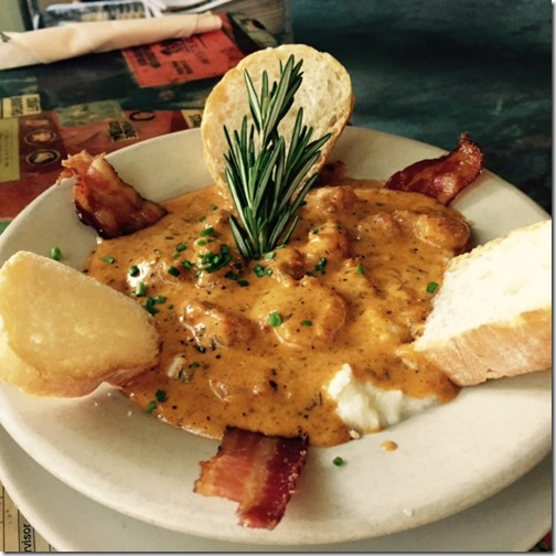 Surrey's Cafe_shrimp and grits