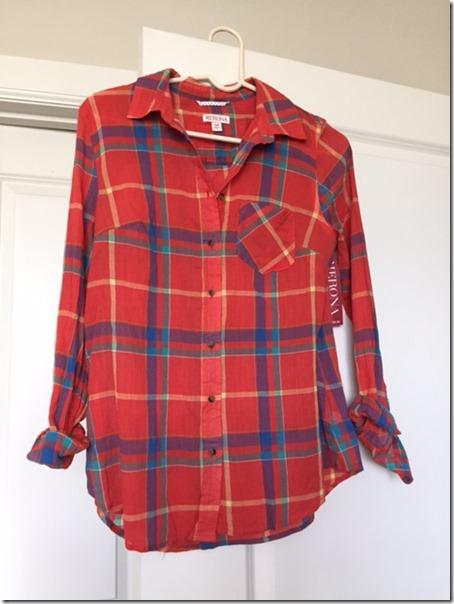Target plaid shirt clearance
