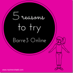 Barre3 Online Review