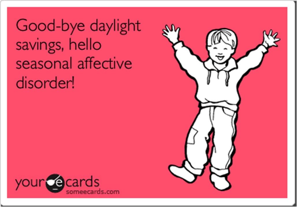 Daylight savings someecard