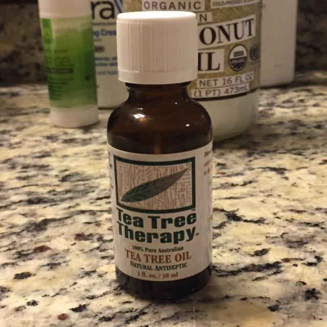 100% tea tree oil for acne prone skin