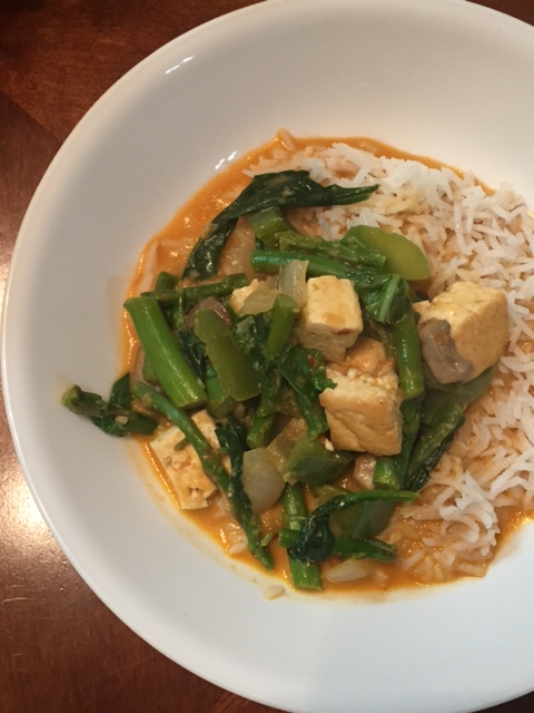 Thai red curry via Cookie & Kate