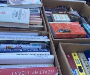 Farmer's Market book sale