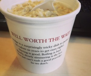 Pret's Porridge in London