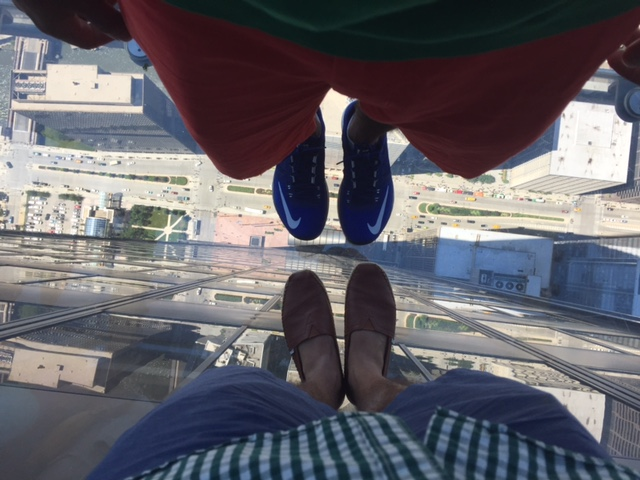 Willis Tower Skydeck Ledge