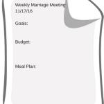 Weekly Marriage Meeting